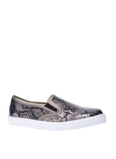 Limon Company Desenli Yazlık Ayakkabı Bronz